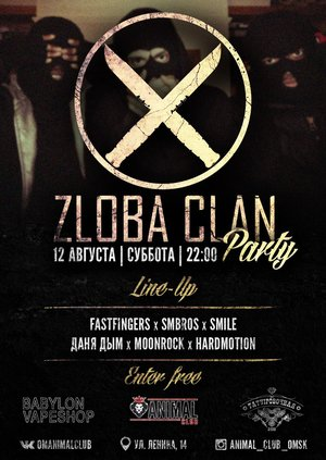 Zloba Clan Party